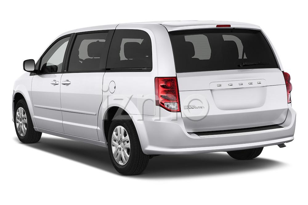 Car pictures of rear three quarter view of 2017 Dodge Grand-Caravan SE 5 Door Minivan Angular Rear