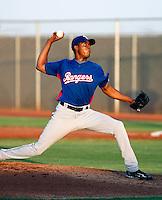 Ezequiel Rijo --  AZL Rangers - 2009 Arizona League.Photo by:  Bill Mitchell/Four Seam Images