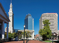 Downtown, Springfield, Massachusetts, USA