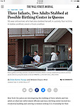 Birthing Center Stabbing Story In Flushing, Queens. Multiple people stabbed at an illegal overnight daycare. Shot for Reuters Photo on the Wall Street web-story.
