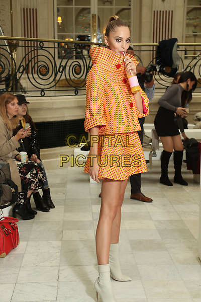 Paul Costelloe <br /> Backstage at fashion show, London Fashion Week<br /> Spring Summer 2018<br /> in London, England in September 2017.<br /> CAP/GOL<br /> &copy;GOL/Capital Pictures