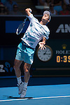 Tomas Berdych (CZE) defeats Viktor Troicki (SRB) 6-4, 6-3, 6-4 at the Australian Open being played at Melbourne Park in Melbourne, Australia on January 23, 2015