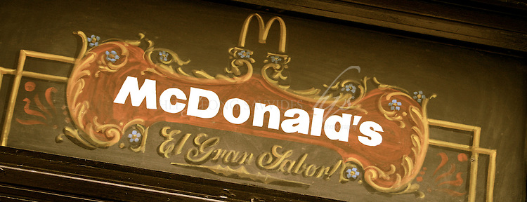 McDonald's Logo in Buenos Aires, Argentina | Feb 08