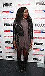 """Jeannette Bayardelle attends the Opening Night Celebration for """"Mother of the Maid"""" on October 18, 2018 at the Public Theatre in New York City."""