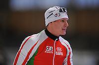 SCHAATSEN: BERLIJN: Sportforum, 06-12-2013, Essent ISU World Cup, 1500m Men Division B, Vitaly Mikhailov (BLR), ©foto Martin de Jong