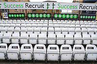 General view of empty seats around the ground ahead of Essex Eagles vs Glamorgan, NatWest T20 Blast Cricket at The Cloudfm County Ground on 16th July 2017
