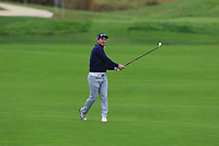 Ryan Fox (NZL) on the 14th fairway during Round 4 of the Amundi Open de France 2019 at Le Golf National, Versailles, France 20/10/2019.<br /> Picture Thos Caffrey / Golffile.ie<br /> <br /> All photo usage must carry mandatory copyright credit (© Golffile | Thos Caffrey)