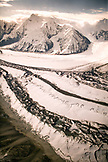 USA, Alaska, scenic view of brooks glacier, Denali National Park