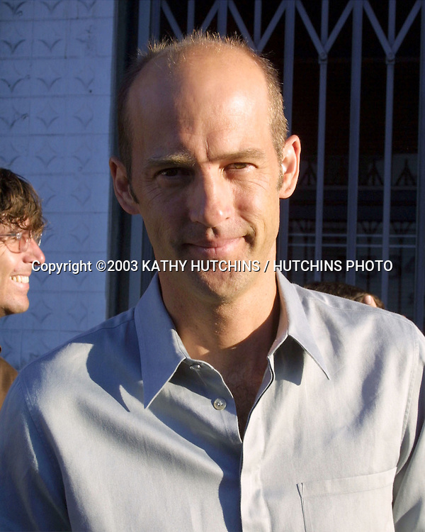 ©2003 KATHY HUTCHINS/ HUTCHINS PHOTO.PROJECT ANGEL FOOD ANNUAL BENEFIT DINNER.LOS ANGELES, CA.AUGUST 9, 2003..ANTHONY EDWARDS
