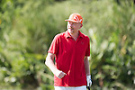 Boris Becker plays during the World Celebrity Pro-Am 2016 Mission Hills China Golf Tournament on 22 October 2016, in Haikou, China. Photo by Weixiang Lim / Power Sport Images