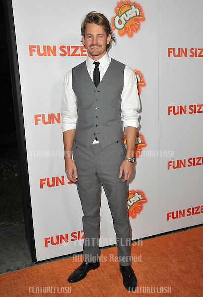 "Josh Pence at the Los Angeles premiere of his new movie ""Fun Size"" at the Paramount Theatre, Hollywood..October 25, 2012  Los Angeles, CA.Picture: Paul Smith / Featureflash"