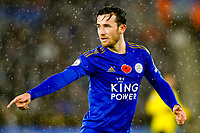 9th November 2019; King Power Stadium, Leicester, Midlands, England; English Premier League Football, Leicester City versus Arsenal; Ben Chilwell of Leicester City - Strictly Editorial Use Only. No use with unauthorized audio, video, data, fixture lists, club/league logos or 'live' services. Online in-match use limited to 120 images, no video emulation. No use in betting, games or single club/league/player publications