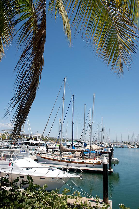 Marina Cruz de Huanacastle, Nayarit, Mexico