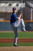 Texas Rangers pitcher Sam Stafford (40) during an instructional league game against the San Diego Padres on October 9, 2015 at the Surprise Stadium Training Complex in Surprise, Arizona.  (Mike Janes/Four Seam Images)