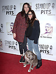 Whitney Cummings , Rebecca Corry and Angel attends The 4th Annual Stand Up for Pits event at the Hollywood Improv in West Hollywood, California on November 02,2014                                                                               © 2014 Hollywood Press Agency