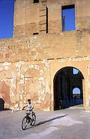 Libia  Sabratha .Citt&agrave;  romana a circa 67km da Tripoli.Teatro Romano.<br /> Sabratha Libya.Roman city about 67km from Tripoli. Roman Theatre.