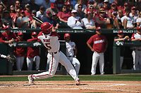NWA Democrat-Gazette/J.T. WAMPLER Arkansas' beat Ole Miss Monday June 10, 2019 during the NCAA Fayetteville Super Regional at Baum-Walker Stadium in Fayetteville. Arkansas won 14-1 and will advance to the College World Series in Omaha.