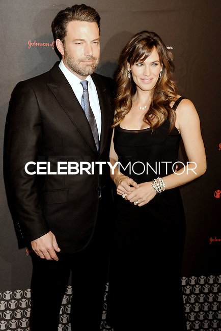 NEW YORK CITY, NY, USA - NOVEMBER 19: Ben Affleck, Jennifer Garner arrive at the 2nd Annual Save the Children Illumination Gala held at the Plaza Hotel on November 19, 2014 in New York City, New York, United States. (Photo by Celebrity Monitor)