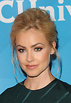 Amanda Schull arriving at the NBCUniversal Summer TCA 2014 Day 2 held at The Beverly Hilton Hotel Beverly Hills, CA. July 14, 2014.