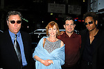 William Peterson , Marg Helgenberger, George Eads and Gary Dourdan.( Cast Of CSI ) at Carnegie Hall, New York City. May 2001