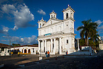 Santa Lucia Cathedral is situated in the main plaza of the cobblestoned streets of the historic colonial town of Suchitoto, El Salvador.  The cathedral was built in 1853 and is one the best examples of post-colonial architecture in El Salvador.