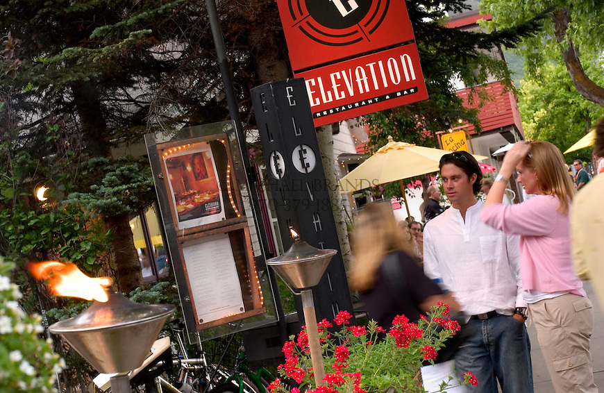 Elevation restaurant in Aspen, Colorado. © Michael Brands. 970-379-1885.
