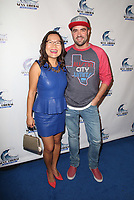 BEVERLY HILLS, CA - NOVEMBER 3: Helen Hong, Ian Harvie, at Stephanie Miller's Sexy Liberal Blue Wave Tour at The Saban Theatre in Beverly Hills, California on November 3, 2018.   <br /> CAP/MPI/FS<br /> &copy;FS/MPI/Capital Pictures