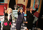 Curtain Call with cast left to right - Sally Mayes, Liz Keifer, Jenn Lee Andrews - Dress rehearsal on November 28, 2017 of Steel Magnolias performed at the Phillipstown Depot Theatre, Garrison, New York. (Photo by Sue Coflin/Max Photo)