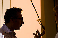 Roma, 12 Ottobre,2010. John Turturro durante il photocall e l'anteprima all'Hotel Majestic di Via Veneto del docufilm Passione