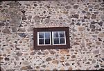 Jack London SHP, window in stone building, SC12