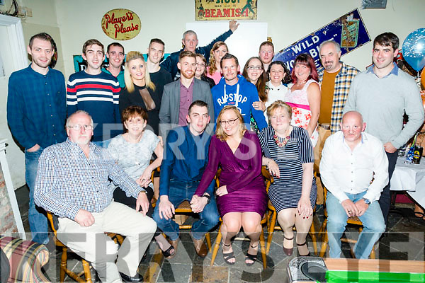 Engagement party Paul Dennehy and Sinead Sweeney at Linnanes BAR with family and friends on Saturday