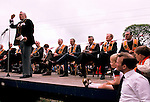 REVEREND IAN PAISLEY AT ORANGE DAY PARADE,BALLYMONEY, N IRELAND,