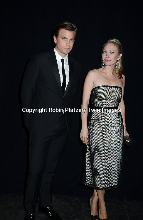 Sarah Wynter and guest attends the 2013 Whitney Gala & Studio party honoring artist Ed Ruscha on October 23, 2013 at Skylight at Moynihan Station in New York City.