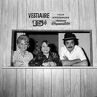 le duo comique Ti Gus et Ti Mousse<br /> <br /> (date inconnue, avant 1984),<br /> <br /> Photo : Agence Quebec Presse - Roland Lachance
