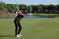 Matthias Schwab (AUT) in action during the first round of the Turkish Airlines Open, Montgomerie Maxx Royal Golf Club, Belek, Turkey. 07/11/2019<br /> Picture: Golffile | Phil INGLIS<br /> <br /> <br /> All photo usage must carry mandatory copyright credit (© Golffile | Phil INGLIS)