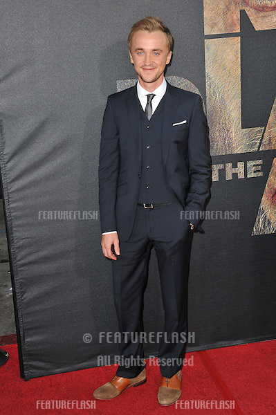 "Tom Felton at the Los Angeles premiere of his new movie ""Rise of the Planet of the Apes"" at Grauman's Chinese Theatre, Hollywood..July 28, 2011  Los Angeles, CA.Picture: Paul Smith / Featureflash"