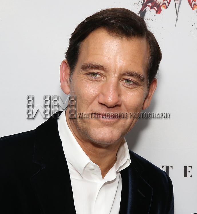Clive Owen attends the Broadway Opening Night After Party for 'M. Butterfly' on October 26, 2017 at Red Eye Grill in New York City.