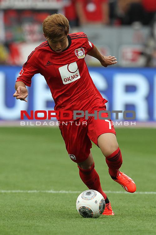 10.08.2013, BayArena, Leverkusen, GER, 1. FBL, Bayer 04 Leverkusen vs SC Freiburg, im Bild<br /> Heung-Min Son (Leverkusen #7)<br /> <br /> Foto &copy; nph / Mueller