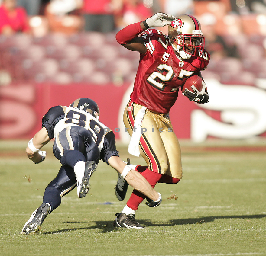 WALT HARRIS, of the San Francisco 49ers  in action against the St. Louis Ram during the 49ers game in San Francisco, California on November 16, 2008..49ers win 35-16