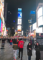 Times Square - 11.04.2018: Sightseeing in New York