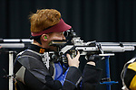 COLUMBUS, OH - MARCH 11: Ryan Jacobs of the Air Force Academy  competes during the Division I Rifle Championships held at The French Field House on the Ohio State University campus on March 11, 2017 in Columbus, Ohio. (Photo by Jay LaPrete/NCAA Photos via Getty Images)