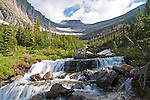 Waterfall in Glacier Park