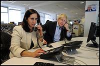 Boris and Marina at CCHQ 22-4-12