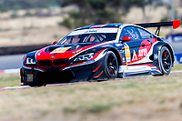 11th January 2020; The Bend Motosport Park, Tailem Bend, South Australia, Australia; Asian Le Mans, 4 Hours of the Bend, Race Day; The number 17 Astro Veloce Motorsports GT driven by Peiwen Qi, Max Wiser, Jens Klingmann during free practice 2