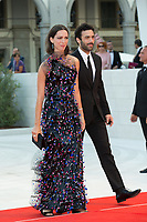 Rebecca Hall, Morgan Spector at the Downsizing premiere and Opening Ceremony, 74th Venice Film Festival in Italy on 30 August 2017.<br /> <br /> Photo: Kristina Afanasyeva/Featureflash/SilverHub<br /> 0208 004 5359<br /> sales@silverhubmedia.com
