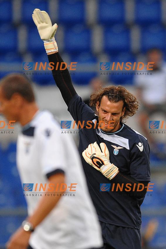 Federico Marchetti (Lazio).11/08/2012 Roma.Stadio Olimpico.Football Calcio 2012 / 2013 .Amichevole / Friendly match .Lazio vs Getafe.Foto Insidefoto / Antonietta Baldassarre.