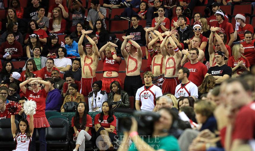 12132012-  Seattle University vs. University of Washington - Men's basketball - 2nd half