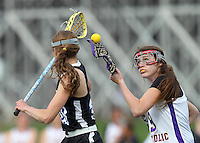 Guerin Girls Lacrosse vs. Heritage Christian 4-24-14