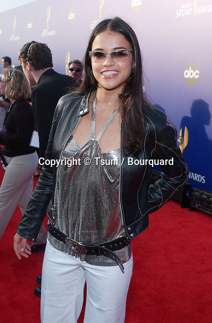 Michelle Rodriguez arrives for the 2002 World Stunt Awards held at Barker  Hanger in Santa Monica, Ca., May 19,          -            RodriguezMichelle11.jpg