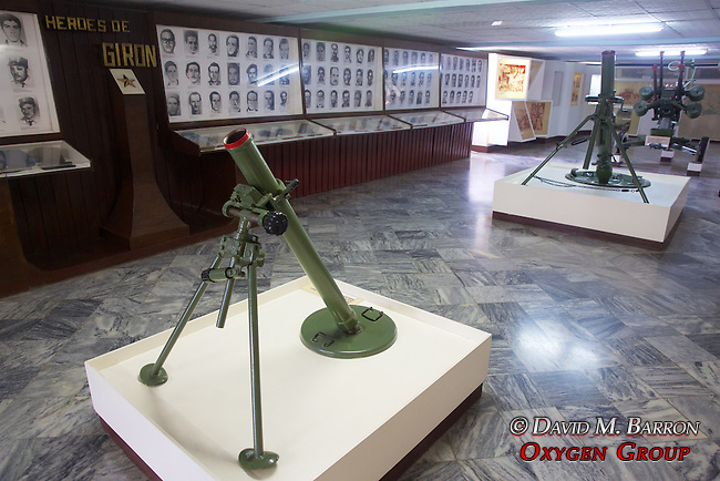 Mortar At The  Invasion Museum, Giron Museum, Bay Of Pigs (1961)